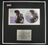 BRIAN MAY(QUEEN) -CD single Award-WHY DONT WE TRY AGAIN